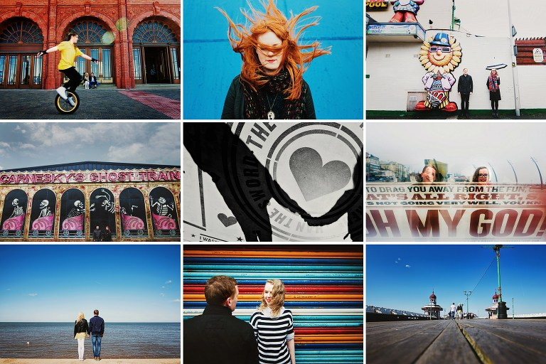 Creative photography workshops for beginners in Blackpool