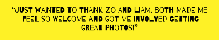 Creative photography sessions for beginners, student and hobbyist photographers or any pro seeking motivation