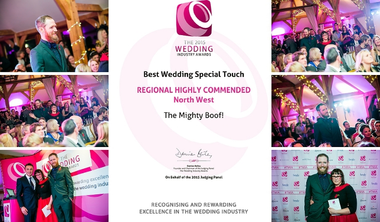 wedding industry awards the mighty boof zt photography