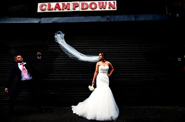 Creative wedding gold winner wedding in Manchester city